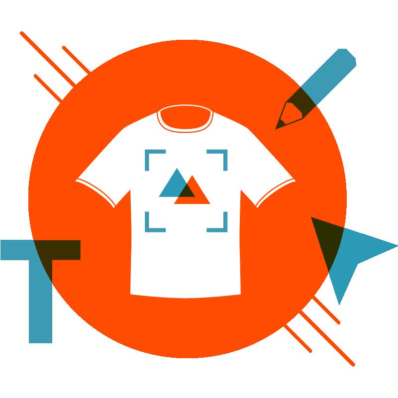 2 - Créez votre design : Impression textile et actions merchandising proposées par Garment Printing