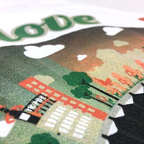 Détails des services d'impression sur textile et tout support - Garment Printing