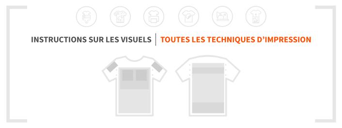Guide de règles et tailles d'impression textile pour le merchandising - Garment Printing