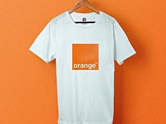 T-shirts personnalisés pour Orange - Garment Printing