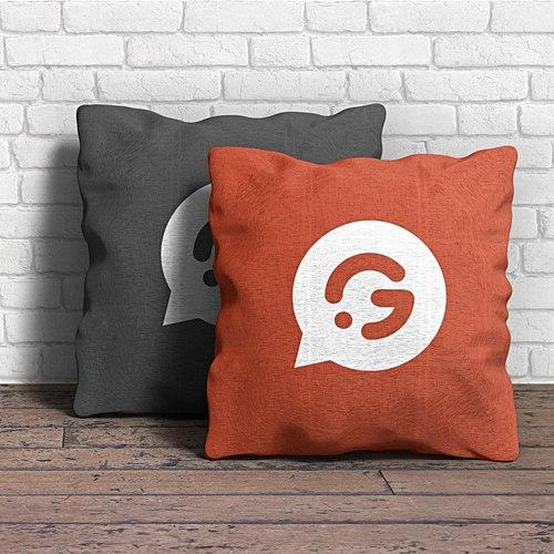 Goodies promotionnels - Coussins personnalisés - Garment Printing