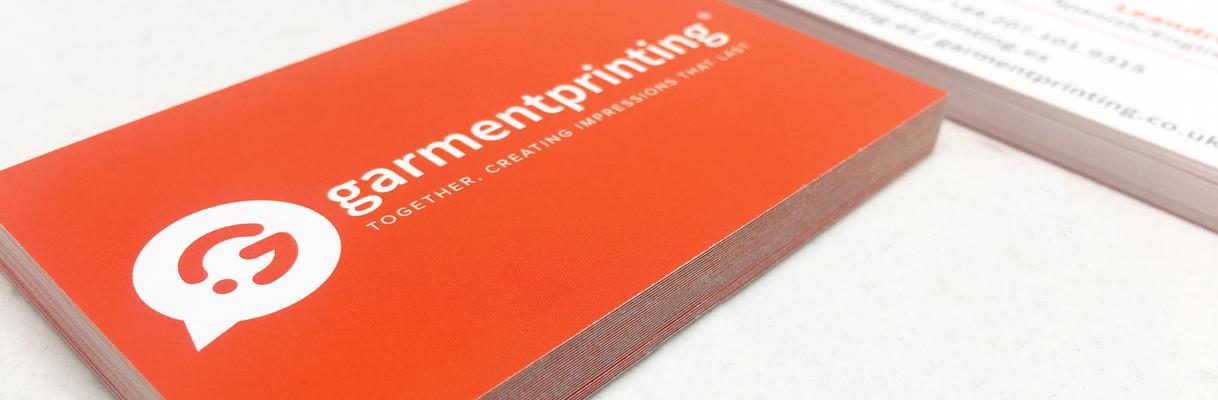 Matériel promotionnel - Cartes de visite - Garment Printing