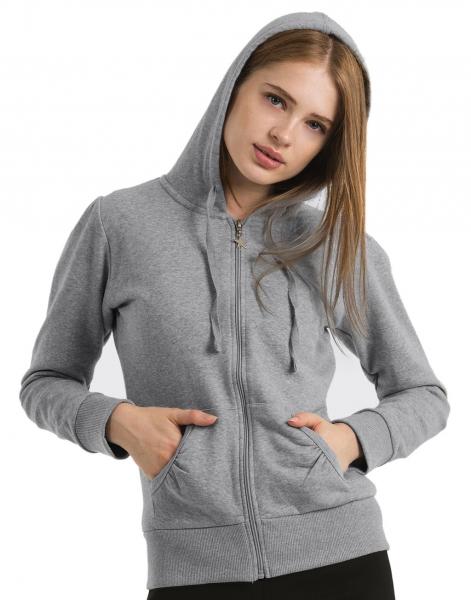 Sweat personnalisé zippé femme - Garment Printing