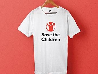 T-shirts imprimés pour Save The Children - Garment Printing