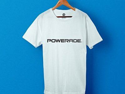 Uniformes de travail personnalisés pour Powerade - Garment Printing