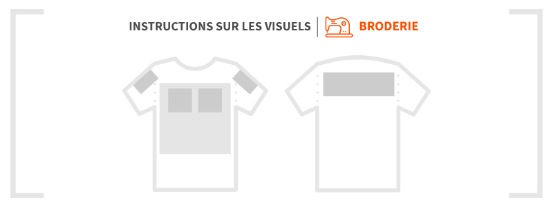 Broderie - Guide d'impression - Garment Printing