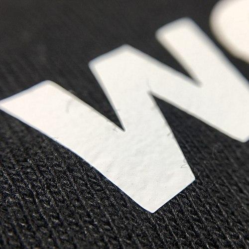 Techniques d'impression : détails de l'impression vinyle