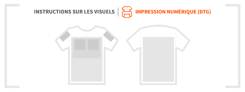 Impression numérique - Guide d'impression - Garment Printing