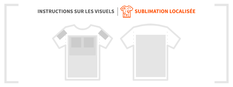 Impression par sublimation localisée - Guide d'impression - Garment Printing