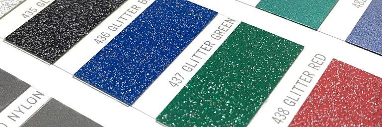 Impression vinyle pailleté pour impression textile - Garment Printing