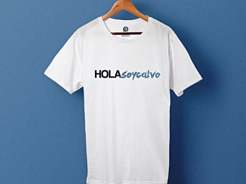 "T-shirts promotionnels pour ""Hola soy calvo"" - Garment Printing"